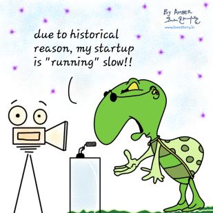 Slow start-up