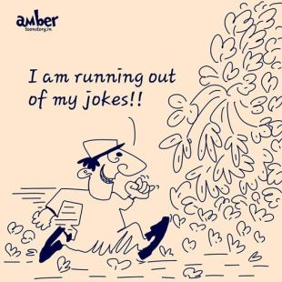 Running out of jokes